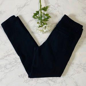 Forever 21 black skinny jeans 28